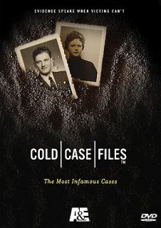 Cold Case Files   The Most Infamous Cases DVD, 2005