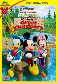 Mickey Mouse Clubhouse Mickeys Great Outdoors DVD, 2011, 2 Disc Set