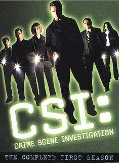 CSI Crime Scene Investigation   The Complete First Season DVD, 2003, 6