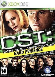 CSI Crime Scene Investigation Hard Evidence Xbox 360, 2007