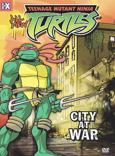 Teenage Mutant Ninja Turtles   Vol. 14 City at War DVD, Edited