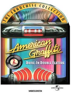 American Graffiti Drive In Double Feature DVD, 2004, 2 Disc Set