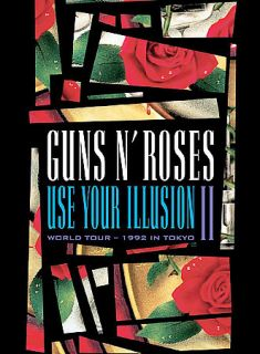 Guns N Roses   Use Your Illusion II DVD, 2003, Amaray Case