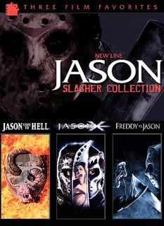 Jason Slasher Collection DVD, 2009, 3 Disc Set, 3 Pack
