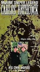 Marine Sniper Legend Carlos Hathcock VHS, 2000