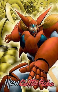 New Getter Robo   Complete Series DVD, 2006, 4 Disc Set