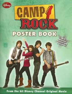 Camp Rock Poster Book 2008, Paperback