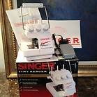 Singer Tiny Serger Sewing Machine   TS380 plus overedge machine 1999