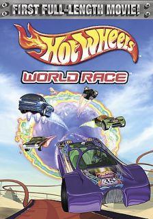 Hot Wheels World Race DVD, 2003, Sensormatic