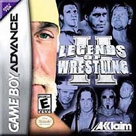 Legends of Wrestling II Nintendo Game Boy Advance, 2002