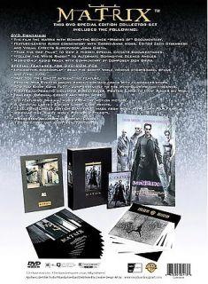 The Matrix DVD, 1999, Deluxe Edition Signature Series Set