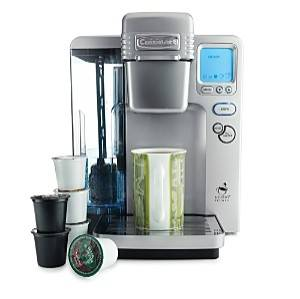 Cuisinart K Cup Coffee Maker How To Descale : Black Decker Spacemaker Under Cabinet Coffee Maker ODC300 12 Cup