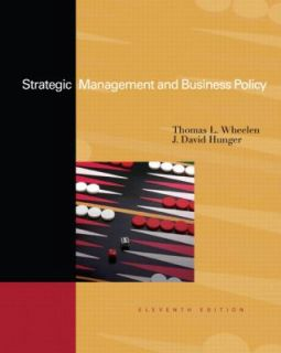 Strategic Management and Business Policy Concepts and Cases by Thomas