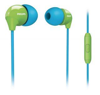 Philips SHE3575BG In Ear only Headphones   Blue Green
