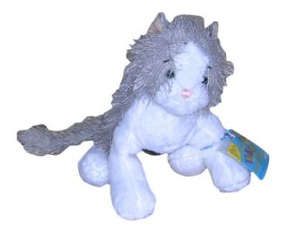 Webkinz Lil Gray and White Cat