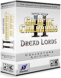 Galactic Civilizations II Dread Lords Collectors Edition PC, 2006