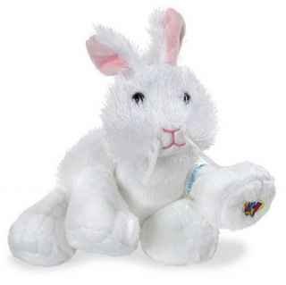 Webkinz LilKinz White Rabbit