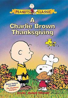 Charlie Brown Thanksgiving DVD, 2000, Sensormatic Bonus Peanuts