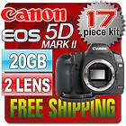 Canon EOS 5D Mark II 21.1 MP Digital SLR Camera   Black (Body Only)