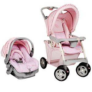 SAFETY 1ST ProPack Travel System   Disney Princess Stroller
