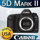 Canon EOS 5D Mark II 21.1 MP Digital SLR Camera   BRAND NEW   USA