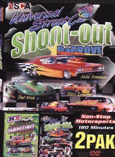 Fastest Streetcar Shootout Universal Streetcar Shootout   2Pak DVD