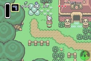 The Legend of Zelda A Link to the Past w the Four Swords Nintendo Game
