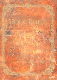 Bible KJV Family Record Brown 2005, Hardcover