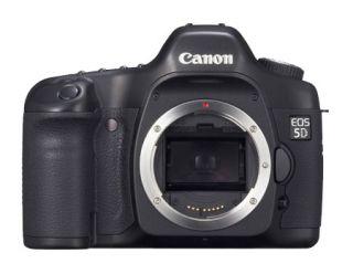 Canon EOS 5D 12.8 MP Digital SLR Camera   Black (Body Only)
