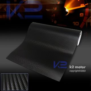 3D CARBON FIBER DECAL VINYL SHEET WRAP HOOD ROOF FLEXIBLE STICKER 15