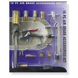 Newly listed 18 pc Air Compressor Hose Tool Tools Accessory Kit
