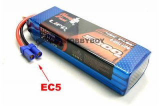 5200mAh 14.8V 45C Max 85C LiPo Battery for RC Car and aircraft