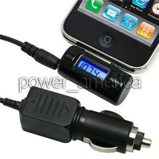 ipod iPhone iTrip FM Transmitter + car charger + High quality