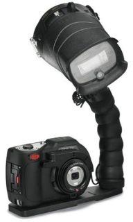DC1400 Pro 14MP HD Underwater Digital Camera with Flash & Flex Arm