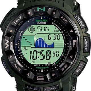 Newly listed Casio Protrek Tough Solar Triple Sensor Watch PRG 250B 3