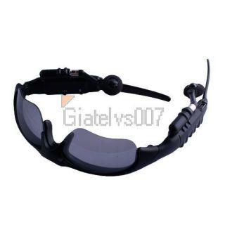 FM Radio Bluetooth 2GB Headset Sunglasses Sun Glass For Cell Phone