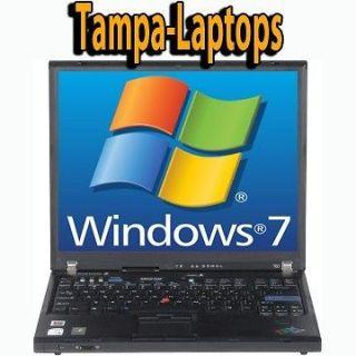 Newly listed IBM T60 LAPTOP LENOVO 1.66GHz WINDOWS 7 COMPUTER WIRELESS