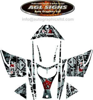 ski doo graphics in Decals & Stickers