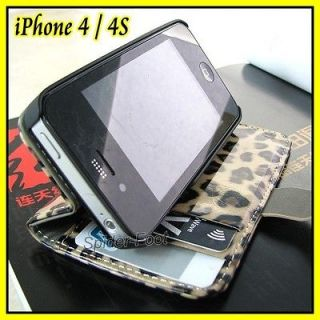 iphone 4 flip wallet in Cases, Covers & Skins