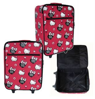 Sanrio Hello Kitty Rolling luggage Travel suitcase red