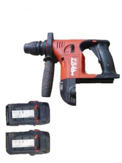 Hilti TE 6 A 36V HAMMER DRILL/Driver with 2x2.4A Lithium Battery