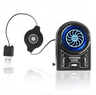 Mini Notebook Cooler   Clip On Air Extracting Fan