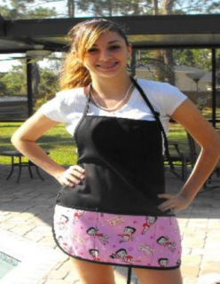 Betty Boop barbeque apron print aprons character aprons aprons with