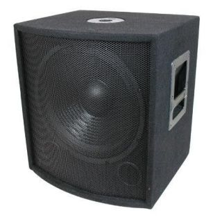 Speaker.Pro Audio.BASS Woofer.Live Sound w/ box.eighteen inch