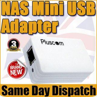Hi  Speed Standard USB 2.0 NAS Print Server DHCP AV UPnP Enclosure