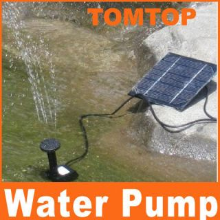 Solar Power Fountain Pool Water Pump Garden Plants
