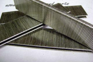 crown 18 ga. Stainless Steel Staples, 1 1/8 long. 1,000 pack