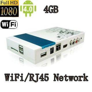HD 1080P Smart TV BOX Network Google Media Player Wi Fi HDMI AV