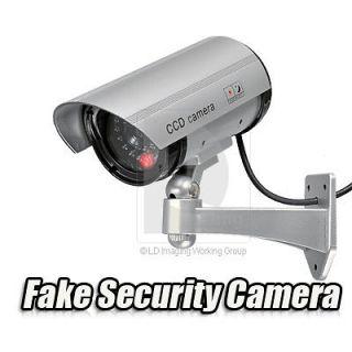 Outdoor/Indoor Fake Surveillance Security Dummy Camera Waterproof LED