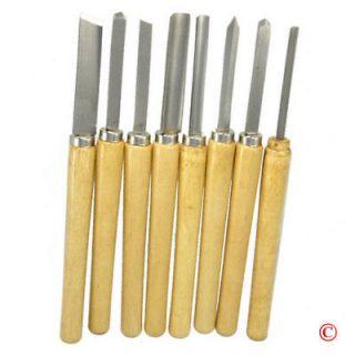 Wood Lathe Chisel Tool Set Woodworking Turning Tools